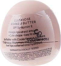 Parfums et Produits cosmétiques Baume à lèvres sphérique Biscuit - Golden Rose Lip Butter SPF15 Cookie