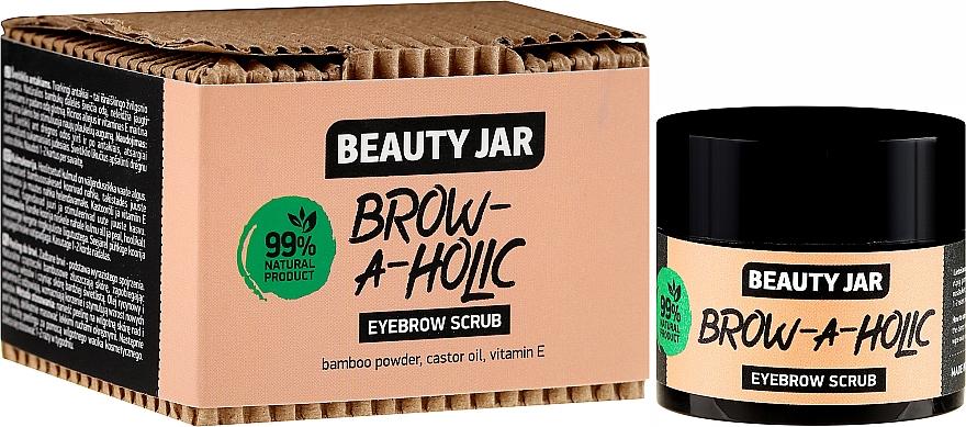 Gommage à la poudre de bambou pour sourcils - Beauty Jar Brow-A-Holic Eyebrow Scrub