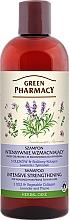 Parfums et Produits cosmétiques Shampooing fortifiant à l'huile de lavande et extrait de thym - Green Pharmacy