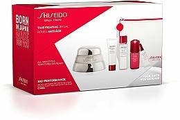 Parfums et Produits cosmétiques Shiseido Bio-Performance Time Fighting Ritual - Coffret cadeau(crème/50ml + concentré/10ml + mousse/15ml + softner/30ml + concentré/3ml + trousse)