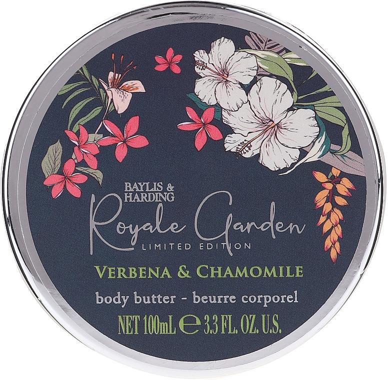 Coffret cadeau - Baylis & Harding Royale Garden Verbena & Chamomile (sh/cr/130ml + soap/150g + b/butter/100ml) — Photo N2