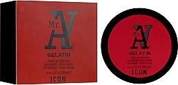 Parfums et Produits cosmétiques Gel coiffant malléable finition humide - I.C.O.N. MR. A. Gelatin Pliable Gel Wet Finish