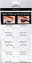 Parfums et Produits cosmétiques Chablons pour eyeliner et fard à paupières, 36705 - Top Choice