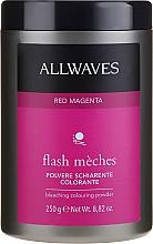 Parfums et Produits cosmétiques Poudre décolorante teintée - Allwaves Flash Maches Bleaching Colouring Powder