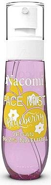 Brume visage naturelle à la myrtille - Nacomi Face Mist Blueberry