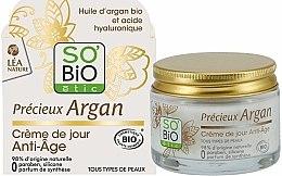 Parfums et Produits cosmétiques Crème de jour Anti-Âge - So'Bio Etic Precieux Argan Anti-Age Day Cream