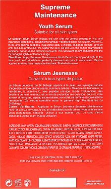 Sérum rajeunissant pour visage, cou et décolleté - Dr Sebagh Supreme Maintenance Youth Serum — Photo N3