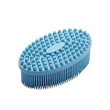 Parfums et Produits cosmétiques Brosse de massage pour corps, bleu clair - Avon