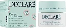 Parfums et Produits cosmétiques Crème aux probiotiques et acide hyaluronique pour visage - Declare Probiotic Skin Solution Multi Regeneration Cream