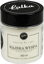Parfums et Produits cosmétiques Gommage à l'huile de coco et amande douce pour corps - Lalka