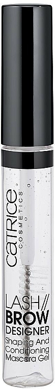 Gel pour cils et sourcils - Catrice Lash & Brow Designer Shaping And Conditioning Mascara Gel