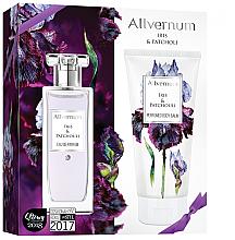 Parfums et Produits cosmétiques Allverne Iris & Patchouli - Set (eau de parfum/50ml + lotion corporelle parfumée/200ml)