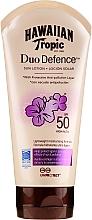 Parfums et Produits cosmétiques Lotion solaire SPF 50 - Hawaiian Tropic Duo Defence Sun Lotion SPF50