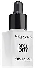 Parfums et Produits cosmétiques Gouttes de sèchage rapide pour vernis à ongles - Mesauda Milano Drop Dry 112