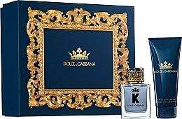Parfums et Produits cosmétiques Dolce & Gabbana K by Dolce & Gabbana - Coffret (eau de toilette/50ml + baume après-rasage/75ml)