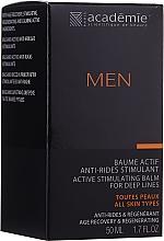 Parfums et Produits cosmétiques Baume anti-rides à l'extrait de chêne pour visage - Academie Men Active Stimulating Balm for Deep Lines