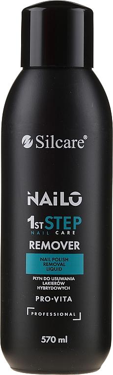 Dissolvant pour vernis à ongles sans acétone - Silcare Nailo Pro-Vita