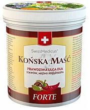 Parfums et Produits cosmétiques Pommade réchauffant aux herbes pour corps - SwissMedicus Forte