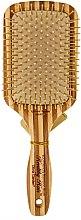 Parfums et Produits cosmétiques Brosse en bambou naturel écologique - Olivia Garden Healthy Hair Rectangular Epoxy Eco-Friendly Bamboo Brush