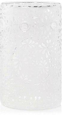 Brûleur à tartelettes de cire en verre - Yankee Candle Sheridan Flower Glass Wax Melt Warmer — Photo N1