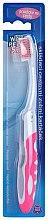 Parfums et Produits cosmétiques Brosse à dents de voyage, rose - VitalCare White Pearl Folding Travel Toothbrush