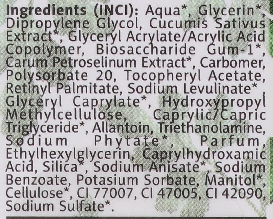 Sérum-gel-masque à l'extrait de persil pour visage et cou - Floslek Green For Skin Serum — Photo N4