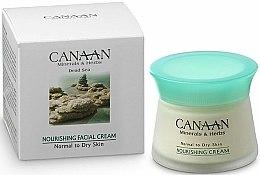 Parfums et Produits cosmétiques Crème à l'extrait d'algues et huile d'avocat pour visage - Canaan Minerals & Herbs Nourishing Facial Cream Normal to Dry Skin