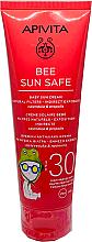 Parfums et Produits cosmétiques Crème solaire au calendula et propolis pour corps - Apivita Bee Sun Safe Baby Sun Cream Calendula & Propolis SPF30