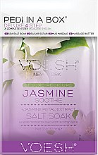 Parfums et Produits cosmétiques Soin et modelage des pieds au jasmin - Voesh Pedi In A Box Deluxe Pedicure Jasmine Soothe (35 g)