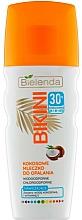 Parfums et Produits cosmétiques Lait solaire au lait de coco pour corps - Bielenda Bikini Moisturizing Suntan Milk SPF30