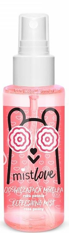 Brume rafraîchissante multi-usages, Rose et Pivoine - Floslek MistLove Rose Peony Refreshing Mist