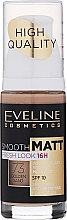 Parfums et Produits cosmétiques Fond de teint - Eveline Cosmetics Smooth Matt SPF10