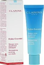 Parfums et Produits cosmétiques Masque désaltérant défatiguant pour les yeux - Clarins Hydra-Essentiel Moisturizing Reviving Eye Mask