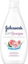 Parfums et Produits cosmétiques Gel douche, Pastèque et Rose - Johnson's® Soft & Energise Shower Gel