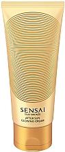 Parfums et Produits cosmétiques Crème chatoyante après-soleil à l'extrait de feuille de théier pour corps - Kanebo Sensai Silky Bronze After Sun Glowing Cream
