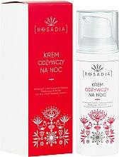 Parfums et Produits cosmétiques Crème de nuit à l'huile de rose de Damas et acide hyaluronique - Rosadia