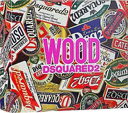 Parfums et Produits cosmétiques Dsquared2 Wood Pour Femme - Coffret (eau de toilette/50ml + gel bain et douche/50ml + lotion corporelle/50ml)