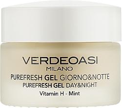 Parfums et Produits cosmétiques Gel de jour et de nuit à la vitamine H - Verdeoasi Purefresh Gel Day&Night
