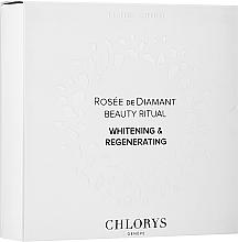 Parfums et Produits cosmétiques Chlorys Rose de Diamant Beauty Ritual - Coffret soin visage (émulsion/12ml + sérum/10ml)