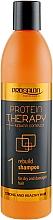 Parfums et Produits cosmétiques Shampooing régénérant pour cheveux secs et abîmés - Prosalon Protein Therapy + Keratin Complex Rebuild Shampoo