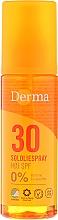 Parfums et Produits cosmétiques Huile solaire SPF 30 pour corps - Derma Sun Sun Oil SPF30 High