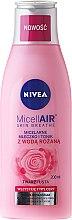 Parfums et Produits cosmétiques Lait micellaire et lotion tonique à l'eau de rose pour visage - Nivea MicellAir Skin Breathe