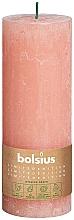 Parfums et Produits cosmétiques Bougie cylindrique, rose, 190x68 mm - Bolsius