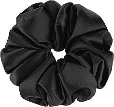 Parfums et Produits cosmétiques Chouchou en soie naturelle, noir Largy - Makeup Largy Scrunchie Black