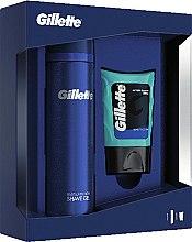 Parfums et Produits cosmétiques Kit de rasage - Gillette (gel après-rasage/75ml + gel de rasage/200ml)