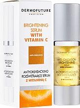 Parfums et Produits cosmétiques Sérum antioxydant et éclaircissant de nuit à la vitamine C pour visage - DermoFuture Brightening Serum With Vitamin C