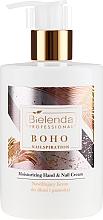 Parfums et Produits cosmétiques Crème hydratante pour mains et ongles - Bielenda Professional Nailspiration Boho Moisturising Hand & Nail Cream