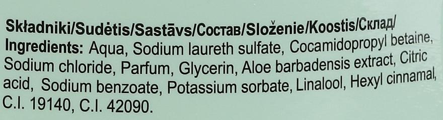 Gel douche pour corps et cheveux, Concombre et Aloe Vera - Bluxcosmetics Naturaphy — Photo N3