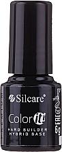 Parfums et Produits cosmétiques Base coat pour vernis semi-permanent - Silcare Color It Premium Hard Builder Hybrid Base