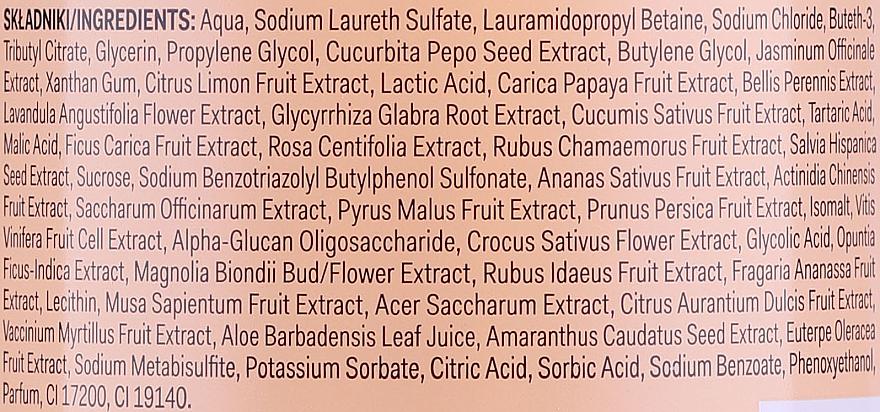 Gel douche Citrouille et jasmin - AA Super Fruits & Herbs — Photo N3